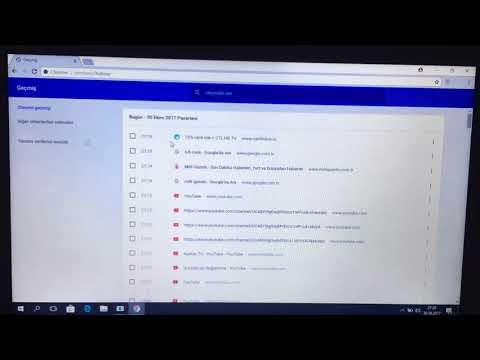 windows 8.1 silinmiş internet geçmişi görüntüleme