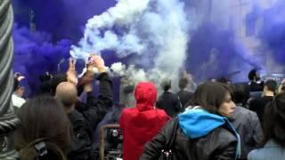 Saluto al Bollo del corteo antifascista del 25 aprile 2014 parte 1
