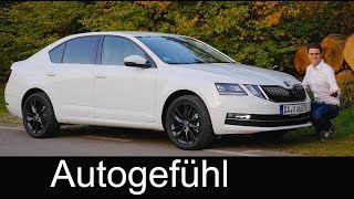 Skoda Octavia FULL REVIEW Limousine hatch sedan 2018 Facelift TSI - Autogefühl