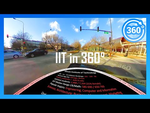 [2020] ILLINOIS INSTITUTE OF TECHNOLOGY In 360° (driving Campus Tour)