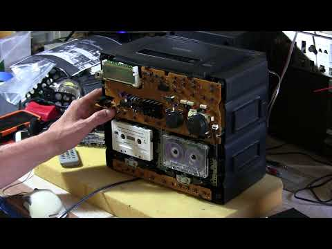Panasonic RX-DT680  Boomboxcassette2go To Cassette2go I Am The Same Inside Part 2 Of 4