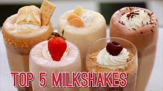 Top 5 Homemade Milkshakes - Gemma's Bigger Bolder Baking Ep  175