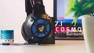 Redgear Cosmo 7.1 Surround Sound Headset Unboxing and Review | Budget RGB Headset | October 2018