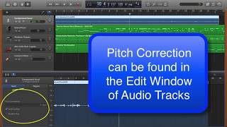 Pitch Correction with Garageband