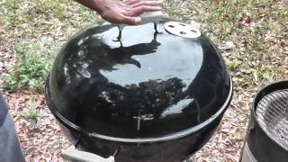 How To Barbecue: Weber One Touch Grill Review
