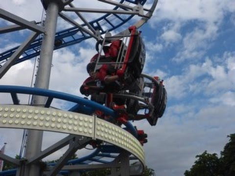 New Rollercoaster Drifting Coaster Ahrend Pov Onride Offride Youtube
