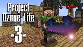 Minecraft - Project Ozone Lite #03 - Infinity ko og obsidian (HD)