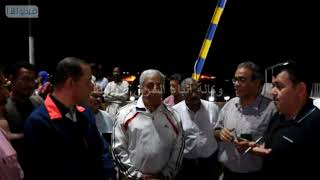 بالفيديو : محافظ أسوان : إستكمال أعمال تطوير كونيش النيل بمدينة أسوان