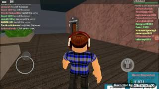 Quis Plays : ROBLOX [The plaza]