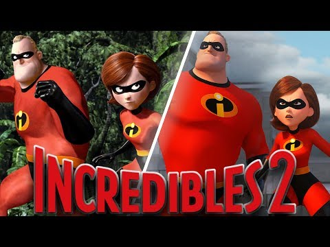 Incredibles 2 Animation Comparison: Then and Now (2004 VS. 2018)