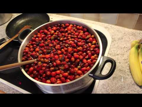 Crafting: Making rosehip soup
