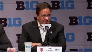 Tom Crean at Big Ten Media Day