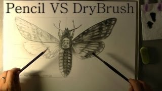 DRY BRUSH TECHNIQUE - Easy tutorial and material