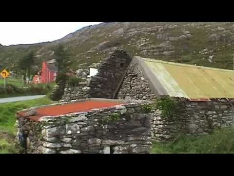 IRELAND Beara peninsula (sd-video)