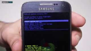 Samsung Galaxy S4 Mini'ye Nasıl Format Atılır?