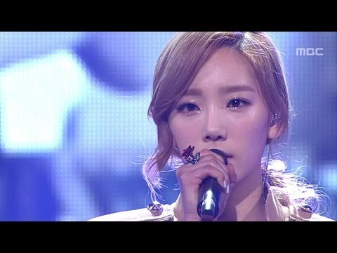 Tae-yeon - Missing you like crazy, 태연 - 미치게 보고싶은, Music Core 20120428