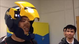 ME102b Voice Activated Ironman Helmet