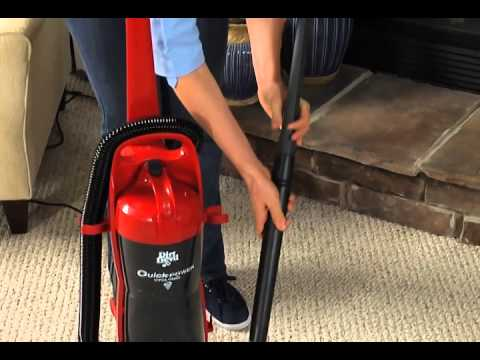 Using Your Tools: Dirt Devil Quick Power Upright UD70115