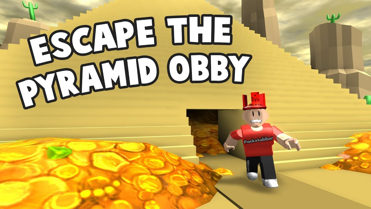 Roblox Escape The Pyramid Obby Youtube - escape the colorful houses obby roblox