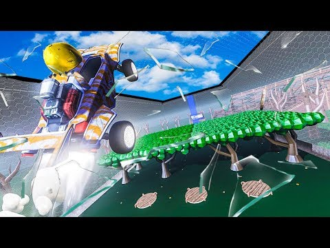 THE LARGEST ROCKET LEAGUE MAP EVER (KING OF THE HILL) thumbnail