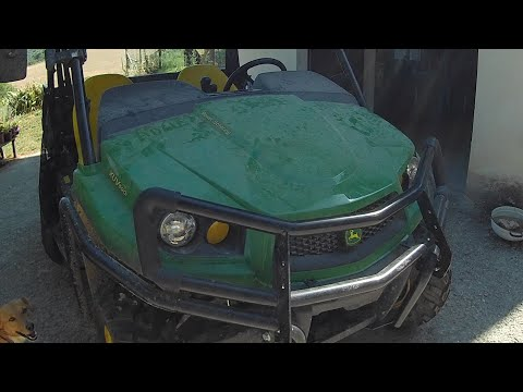 EX PAT LIFE IN ABRUZZO. John Deere Gator 590i. First review, mountain test to follow.