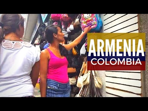 Armenia Colombia: $5.80 Hotel Room, $1.80 Lunch, Negotiating Shopping Prices [#28]
