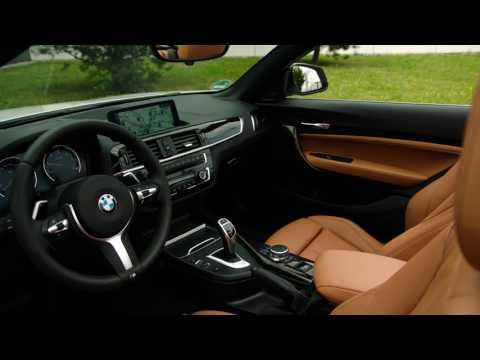 2018 BMW 220d Convertible M Sport Package interior design