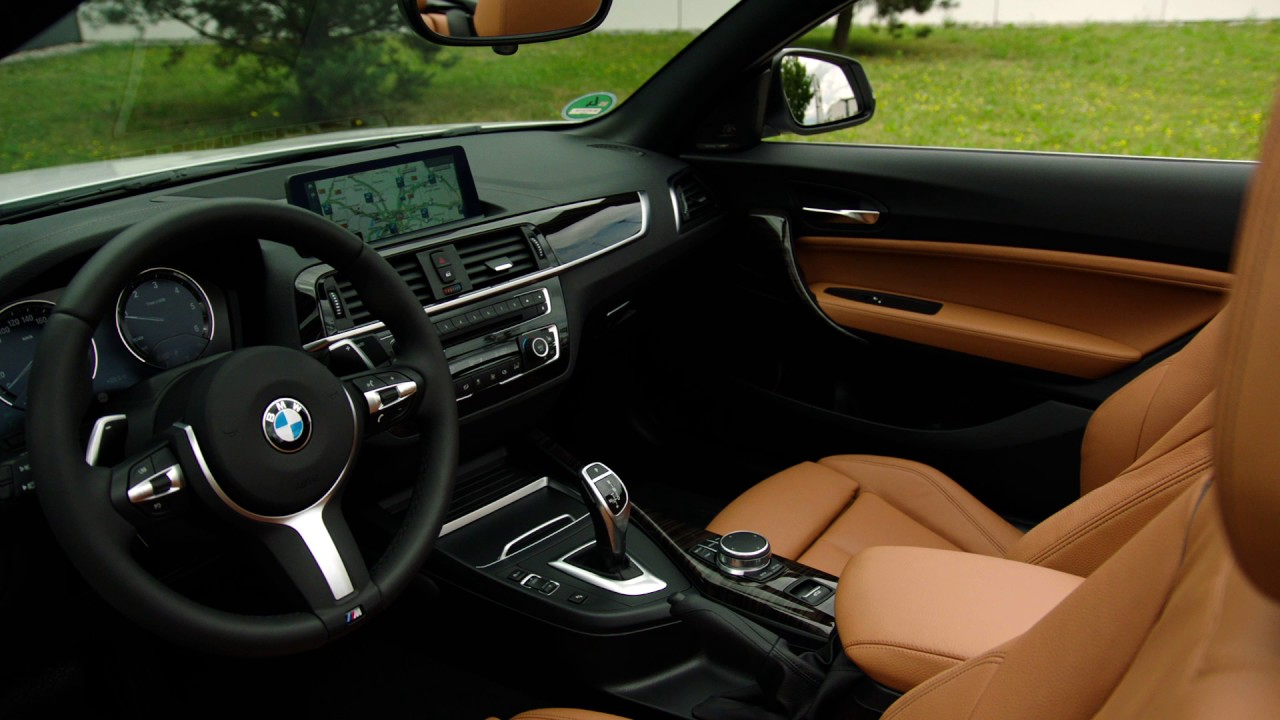 2018 Bmw 220d Convertible M Sport Package Interior Design