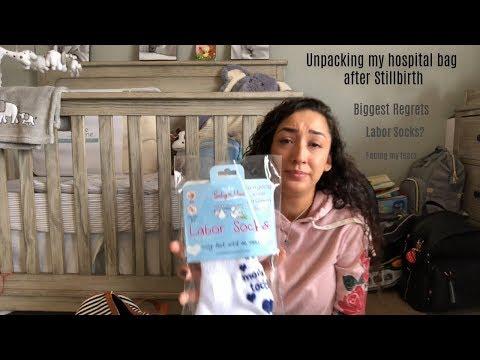 Unpacking My Hospital Bag After Stillbirth