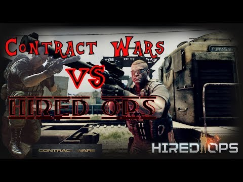 Contract Wars Vs Hired Ops