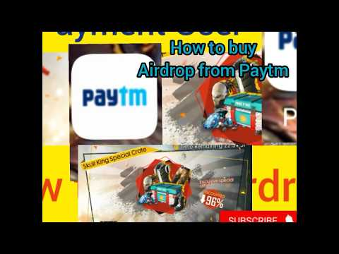 How to buy Airdrop from Paytm. Free fire top up with payment and google play. #Airdrop #TopUp