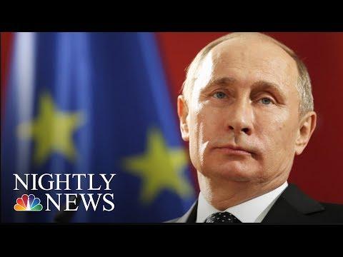 Exclusive: Russian President Vladimir Putin Addresses 2016 Election Meddling   NBC Nightly News