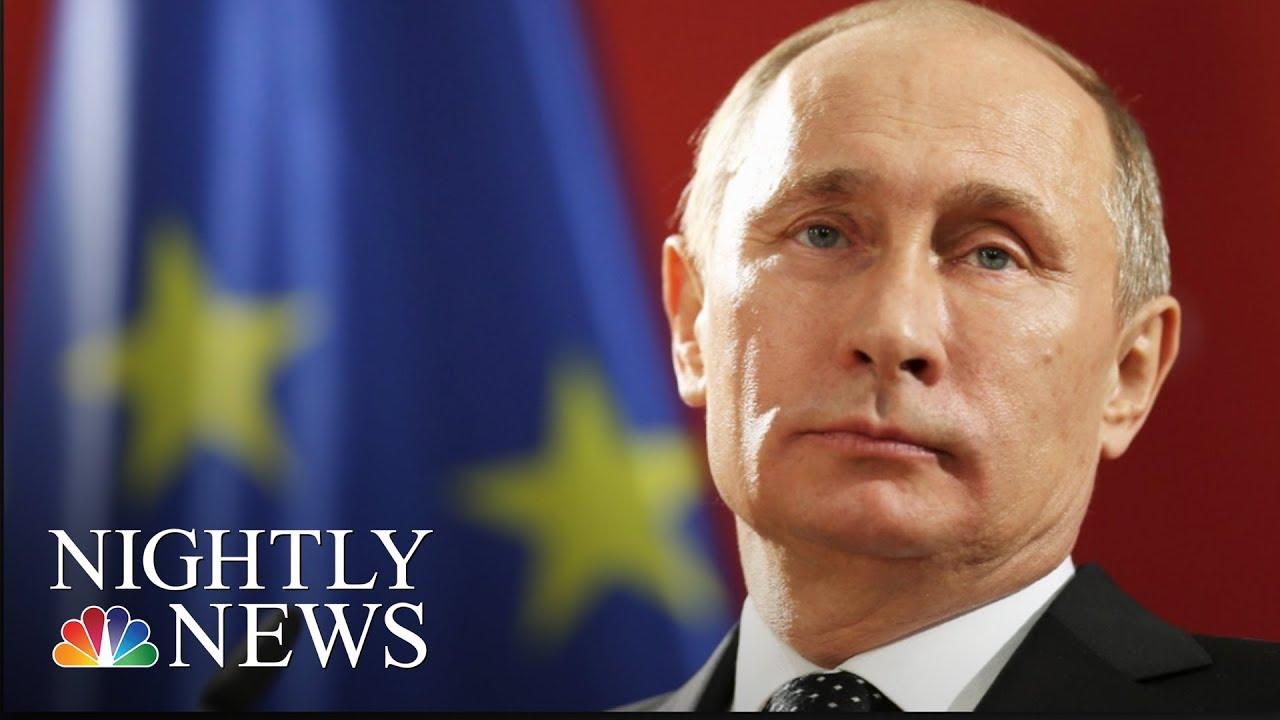 Exclusive Russian President Vladimir Putin Addresses 2016 Election Meddling Nbc Nightly News
