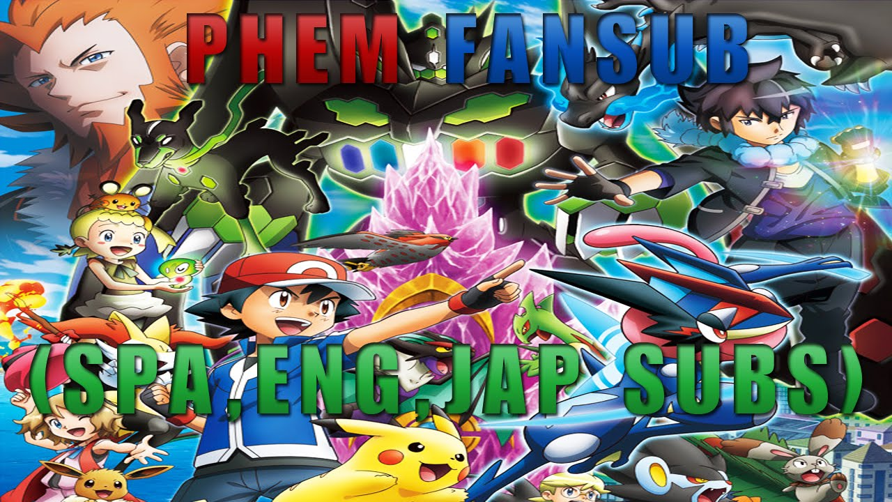 Pokemon XY&Z Opening 1 - XY&Z (English, Español, Romaji Subs)