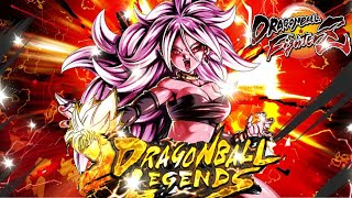 ☠️ Android 21 On Female Warriors Team | Dragon Ball Legends
