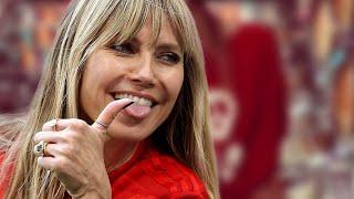 Heidi Klum - Nur mit einem Pulli bekleidet: Diese Aufnahme sorgt für Schnappatmung