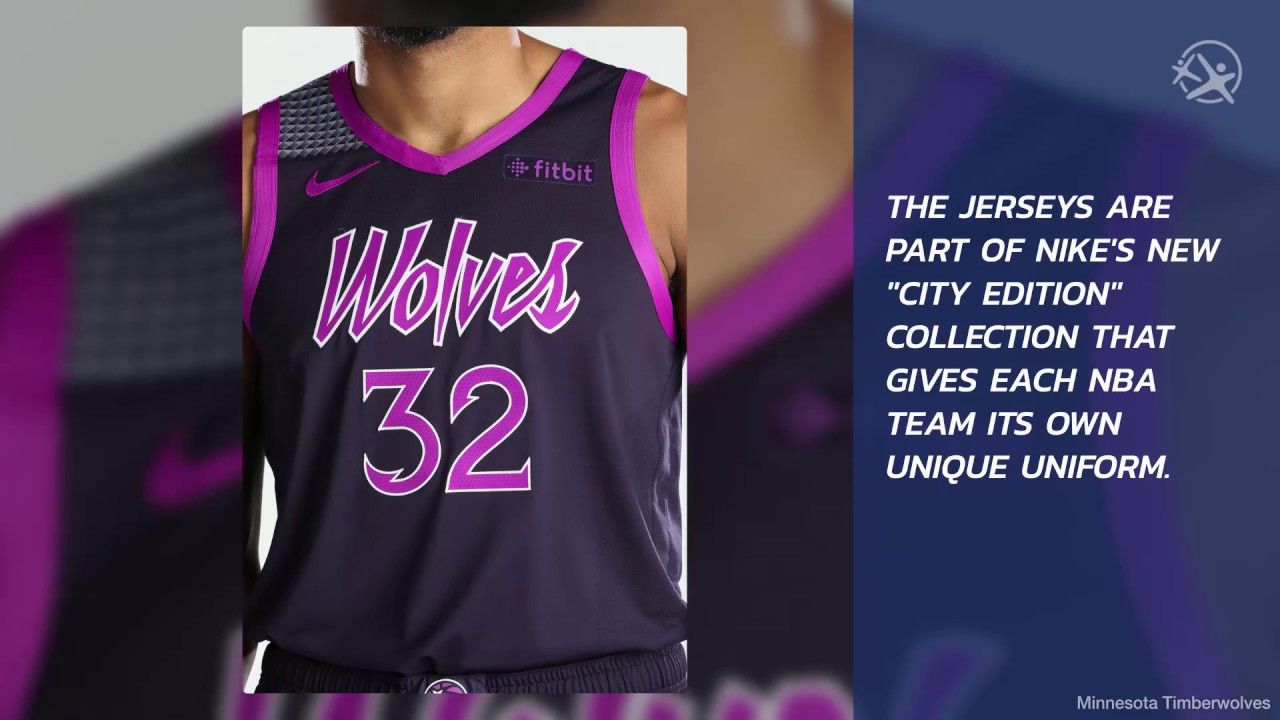 Minnesota Timberwolves Have New Prince Inspired Uniforms Youtube