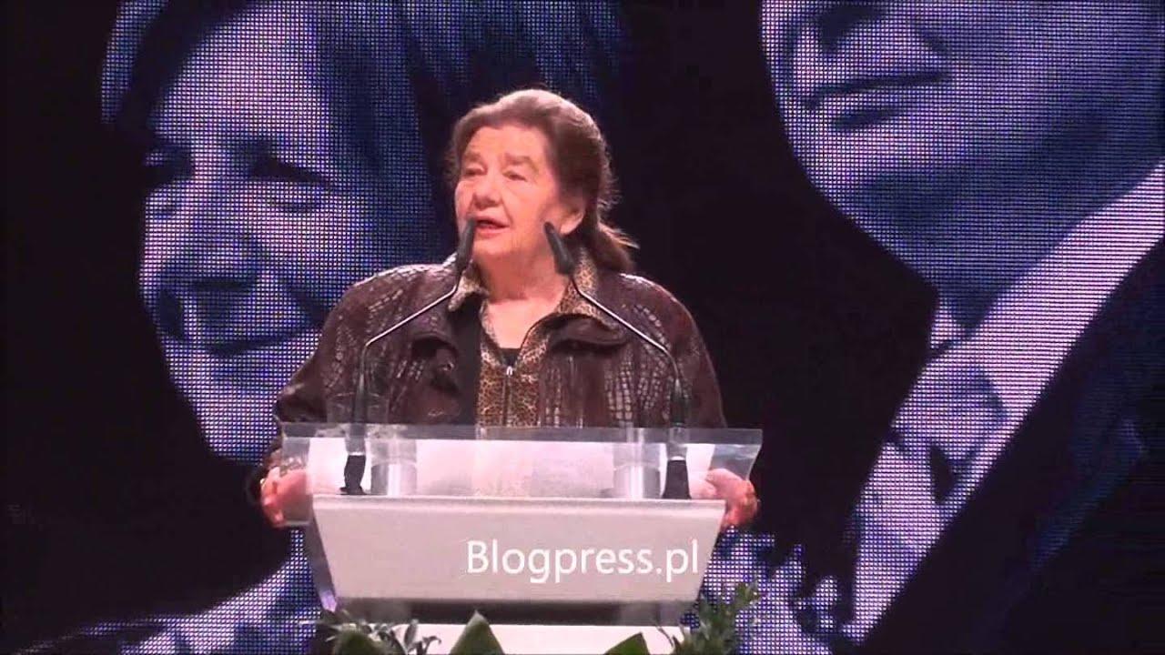 Katarzyna łaniewska Recytuje Wiersze Smoleńskie 5 Rocznica Katastrofy 10042015