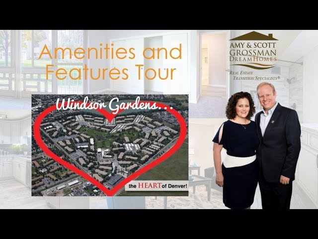 Windsor Gardens, Denver CO:  Community Tour of Amenities with Amy and Scott Grossman, Realtors