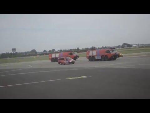 Transavia Emergency landing Schiphol (Part 2)