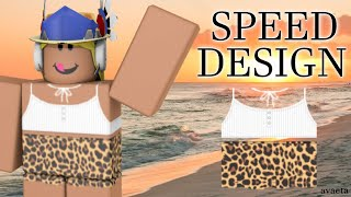 [SPEED DESIGN] Roblox Leopard Print Outfit