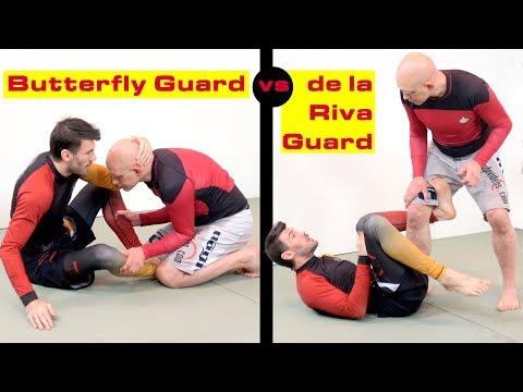 Butterfly Guard vs de la Riva Guard, Which is Better for No Gi?