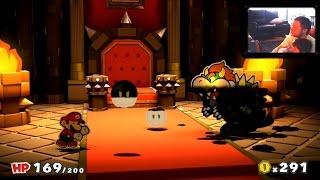 Paper Mario Color Splash #11X - FALHAMOS PELA SEGUNDA VEZ! - Wii U - Gameplay em Português PT-BR