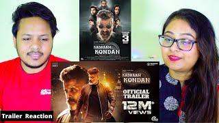 Kadaram Kondan - Official Trailer REACTION | Kamal Haasan | Chiyaan Vikram | Rajesh M Selva