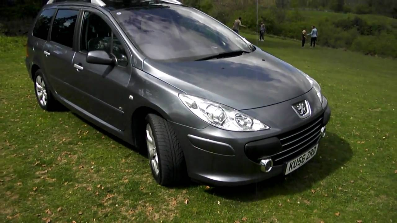 2006 56 Peugeot 307 Sw Se Hdi Www Bransfordgarage Co Uk
