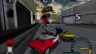 Demolition Racer PS1 Intro + Gameplay