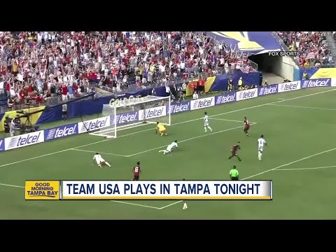 Tampa hosts USA Gold Cup soccer game Wednesday