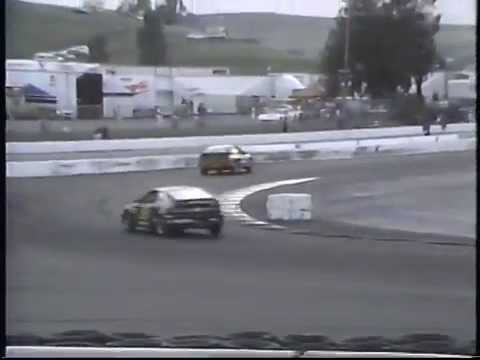 1991 SCCA Escort World Challenge at Sears Point (partial)