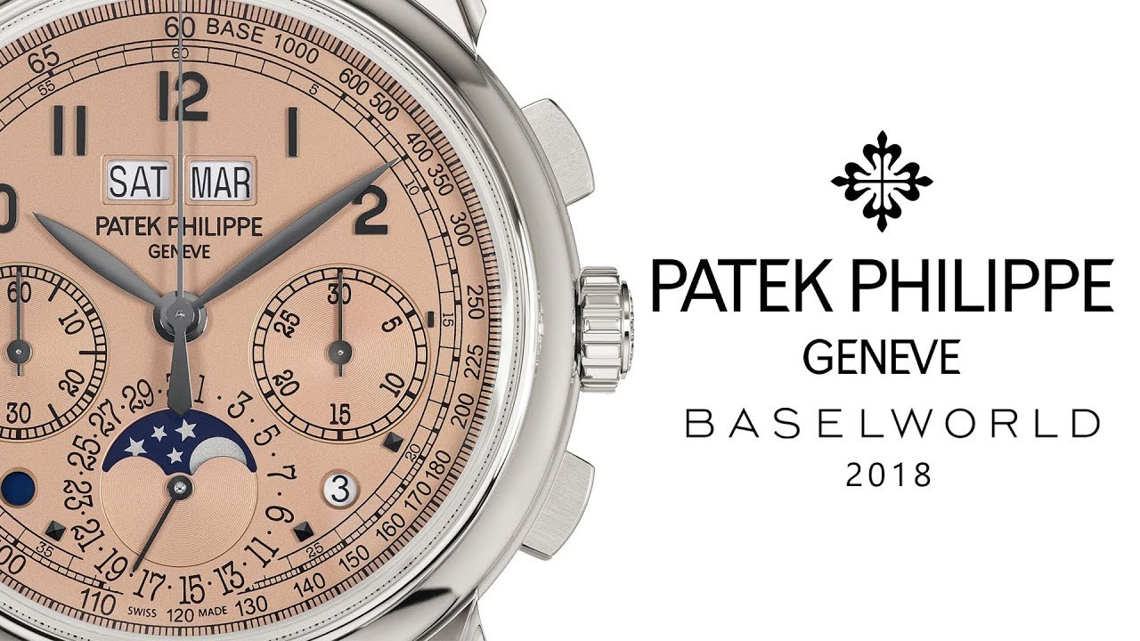 Patek Philippe Watches My Five Favorites At Baselworld 2018 Youtube