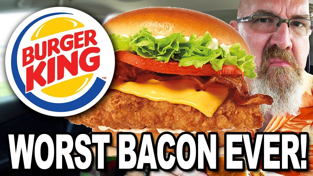Burger King ★ Bacon & Cheese Crispy Chicken Sandwich